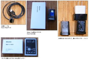Galaxy Tab AC & Cable