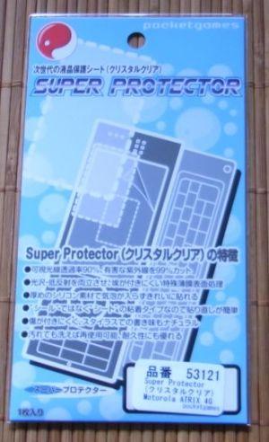 ATRIX 4G Super Protector