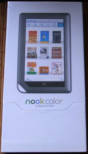 B&N Nook color 1