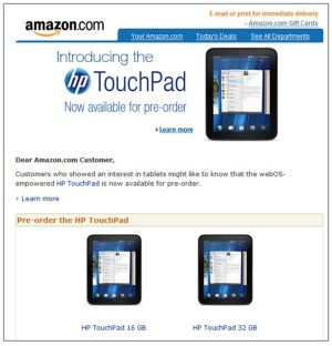 HP TouchPad 2