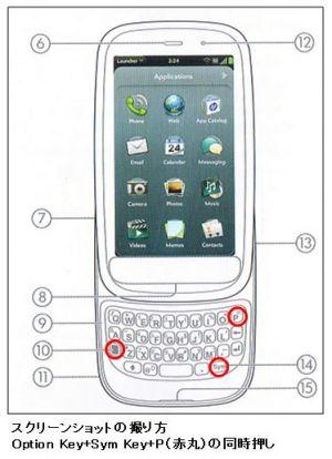 HP Pre 3 Screenshot