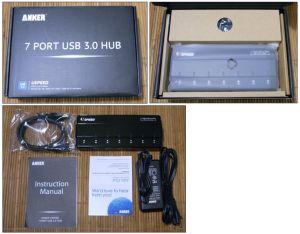 Anker Uspeed USB 3.0 7-port Hub