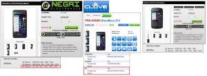BlackBerry Z10  LTEバンド