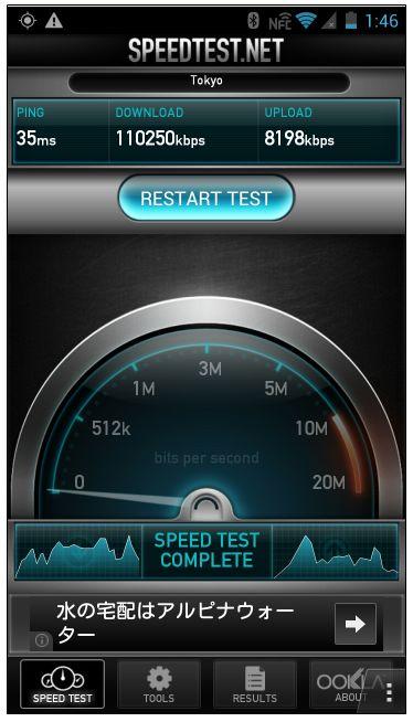SPEEDTEST WiFi  20130819