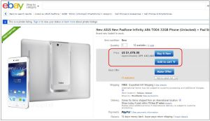 Padfone Infinity A86 初期価格