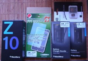 BlackBerry Z10 到着