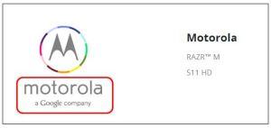 Motorola GoogleからLenovo