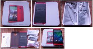 HTC one M8 到着&開封