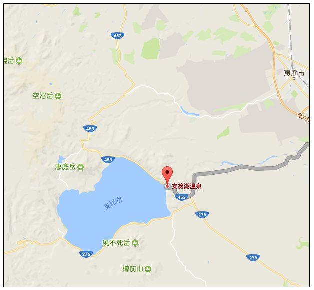 20171006 支笏湖周辺